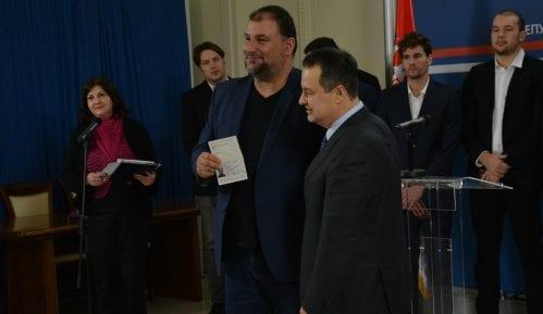 Dačić uručio diplomatske pasoše vaterpolistima 15