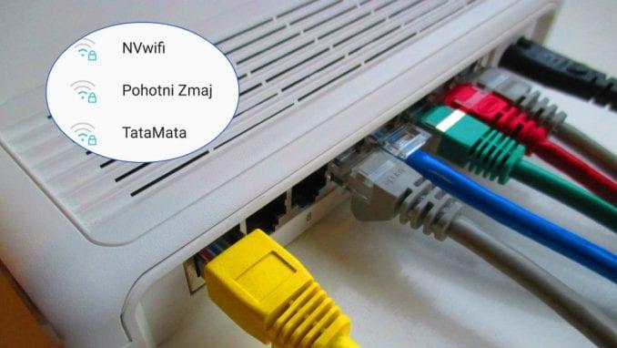 Šta nazivi Wi-Fi mreža govore o srpskim domaćinima? 1