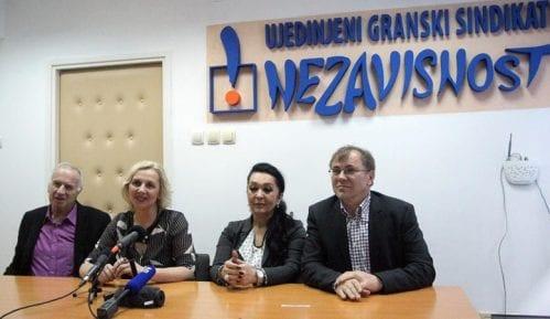Štrajk prosvetara ispred Vlade Srbije 11. decembra 13