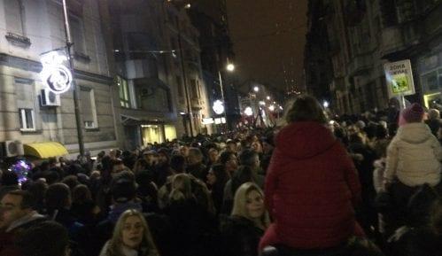 Nekoliko svetskih medija izvestilo o protestu u Beogradu 3