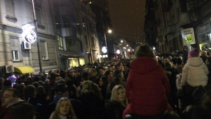 Nekoliko svetskih medija izvestilo o protestu u Beogradu 1