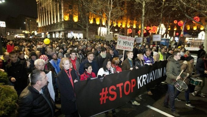 Protest u Kragujevcu predvodiće maturanti Prve kragujevačke gimnazije 1