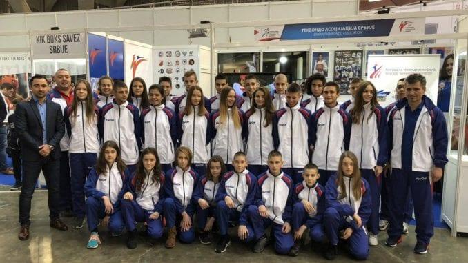 U Srbiju se vraćaju sa dve srebrne i pet bronzanih medalja u tekvondou 4
