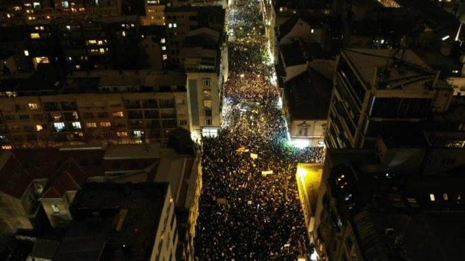 """Protest """"Jedan od pet miliona"""" najmasovniji do sada (VIDEO, FOTO) 1"""