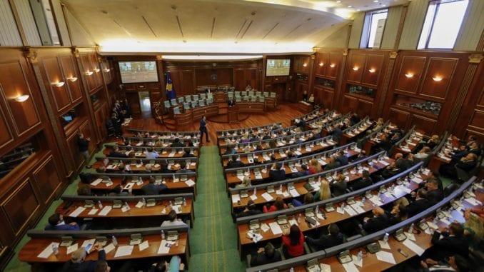Zbog tenzija prekinuta sednica Skupštine Kosova 5
