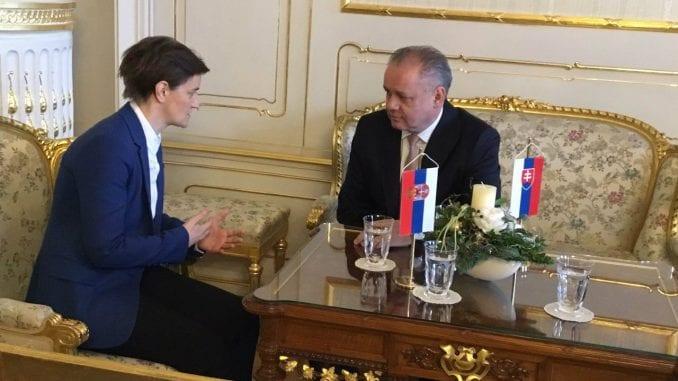 Brnabić: Slovačka važan partner na našem evropskom putu 5