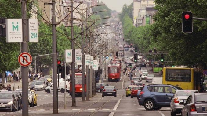 Zatvorene ulice zbog mitinga 1