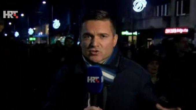 Kako je HRT izveštavao sa jučerašnjeg protesta u Beogradu? (VIDEO) 1