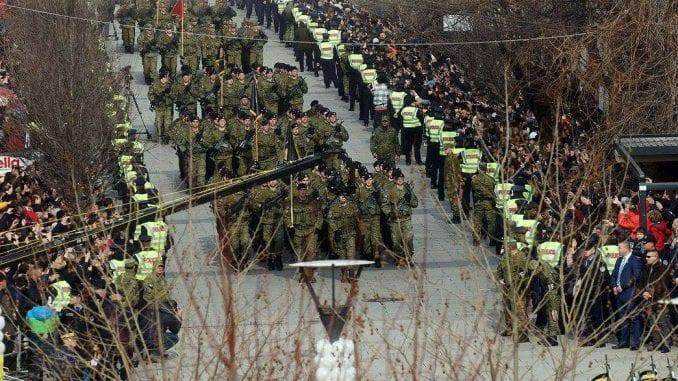 Stigla vozila za vojsku Kosova 1