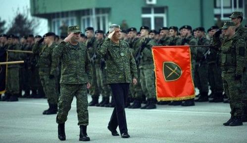 """Otkrivanjem natpisa """"Ministarstvo odbrane Kosova"""" počeo proces tranzicije BSK 1"""