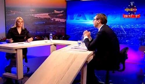 Vučić: Doček  ispred Studija B veličanstven 8
