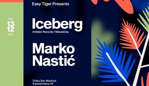 Na Easy Tiger žurci 13. decembra nastup Nastića i Iceberga 7