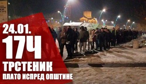 """Drugi protest """"1 od 5 miliona"""" u Trsteniku 24. januara 5"""
