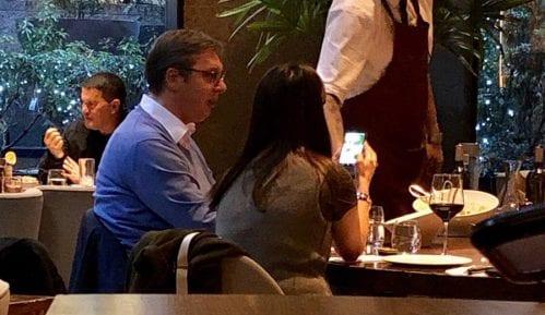 Vučić i Suzana Vasiljević u Njujorku 2