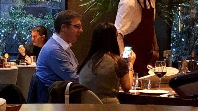 Vučić i Suzana Vasiljević u Njujorku 1