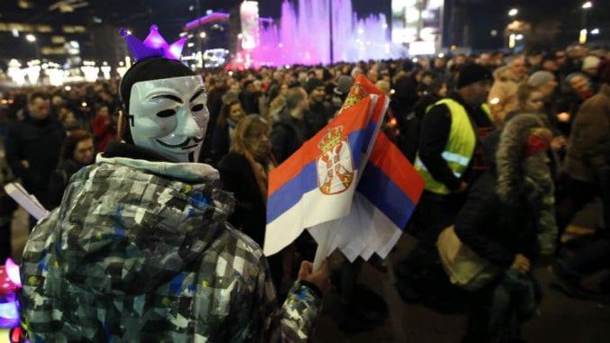 Građanski i opozicioni protesti se šire Srbijom 1
