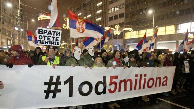 Lokalni front iz Kraljeva kreće 12. januara peške na protest u Beogradu 1