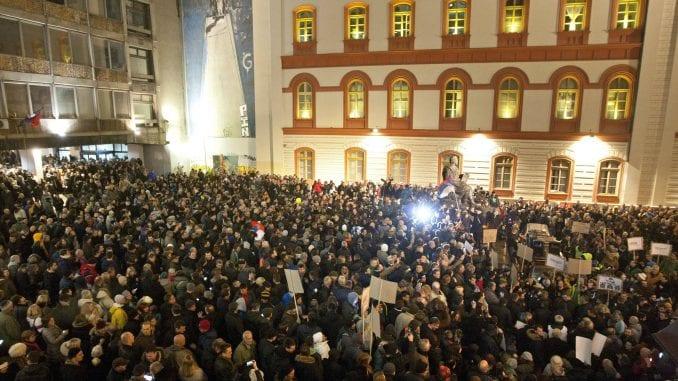"""Protest """"Jedan od pet miliona"""": Stop izvršiteljima 1"""