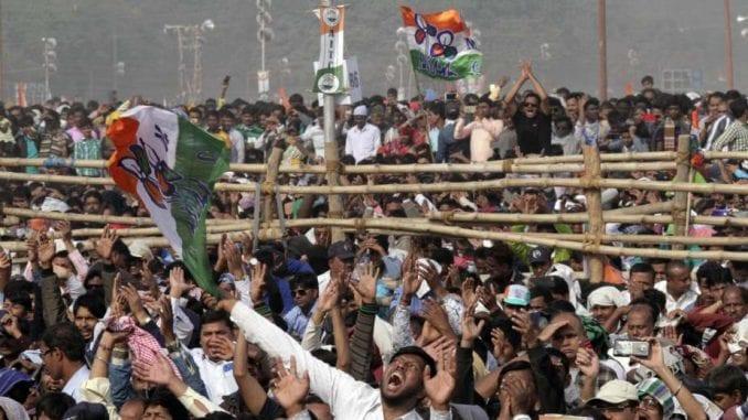 Veliki protest opozicije protiv premijera Indije 1