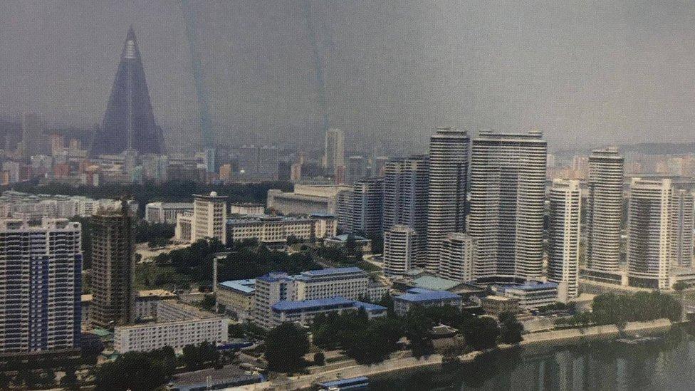 Pogled na Pjongjang
