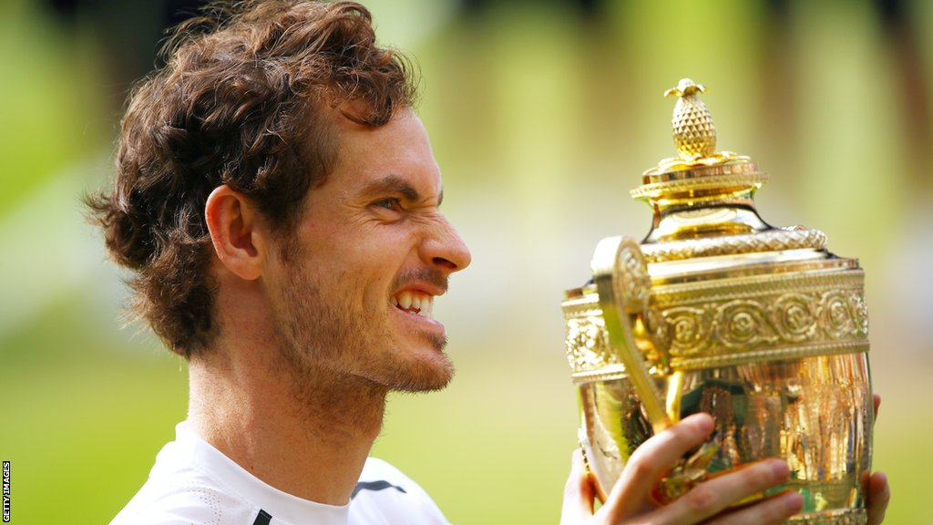 Andy Murray wins Wimbledon in 2016