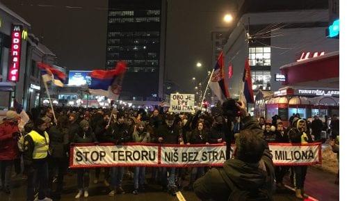 """""""Stop teroru"""" - Nišlije na ulicama, zahtevi se nižu 12"""