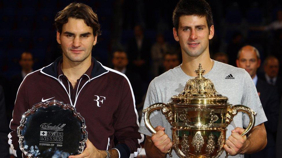 Novak i Federer