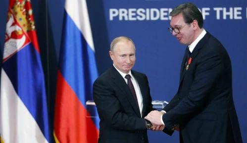 Putin čestitao Vučiću Novu godinu i Božić 14