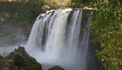 Dopisnica: Afrika (3): Vodopad Plavog Nila 1