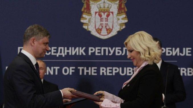 Zorana Mihajlović potpisala sporazum sa generalnim direktorom Ruskih železnica 1