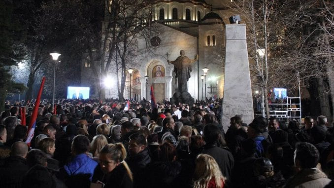 Miting više u znak podrške Vučiću nego za pozdrav Putinu 1