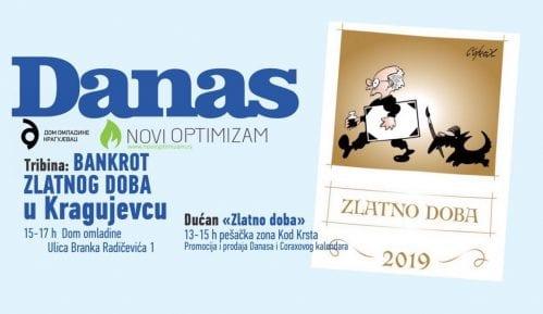 Promocija Koraksovog kalendara 11. januara u Kragujevcu 11