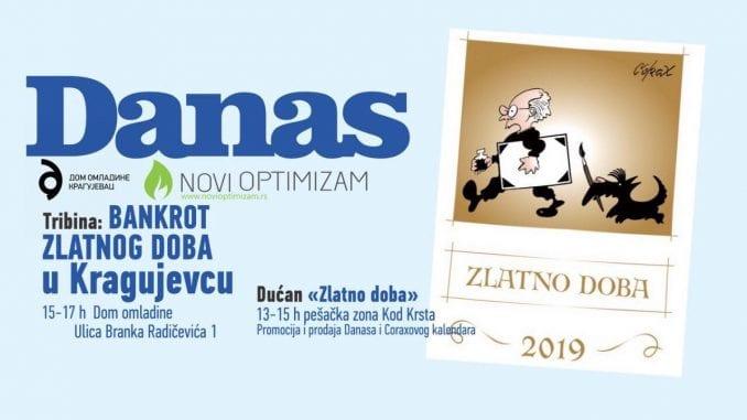 Promocija Koraksovog kalendara 11. januara u Kragujevcu 1