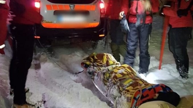 Gorska služba: Evakuacija starice iz sela Štrbovac 2