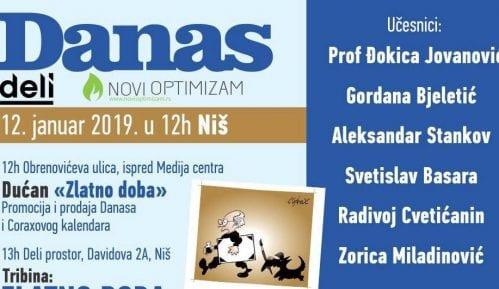 Promocija Koraksovog kalendara u Nišu 12. januara 15