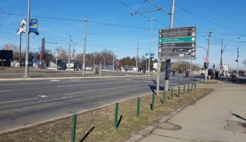 Gradnja nove kule na Ušću oštetila ulični asfalt 15
