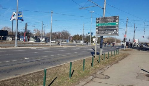Gradnja nove kule na Ušću oštetila ulični asfalt 1