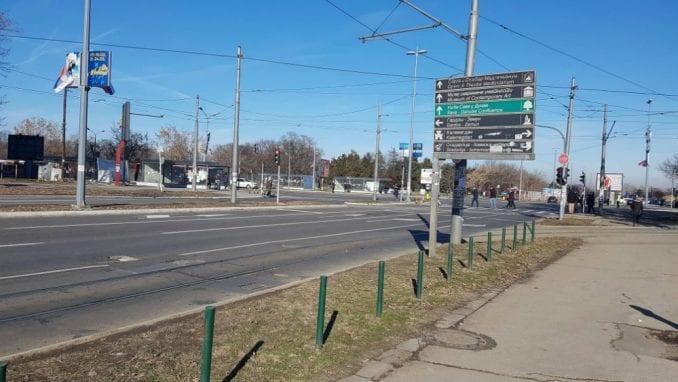Gradnja nove kule na Ušću oštetila ulični asfalt 3