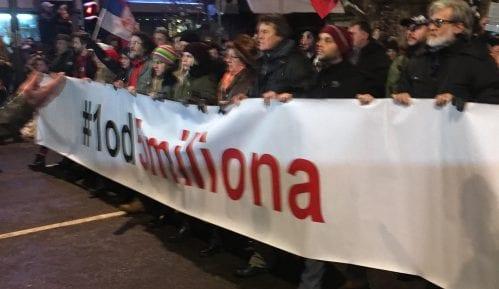 "Prva protestna šetnja""1 od 5 miliona"" danasu Kladovu 5"