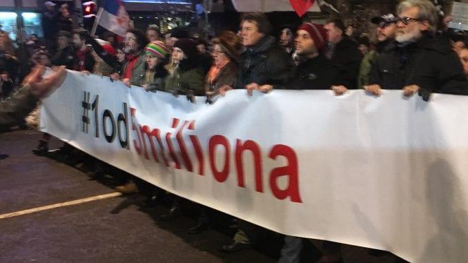 "Prva protestna šetnja""1 od 5 miliona"" danasu Kladovu 4"