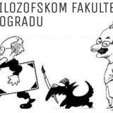 Izložba karikatura Koraksa i Petričića na Filozofskom fakultetu 31. januara 15