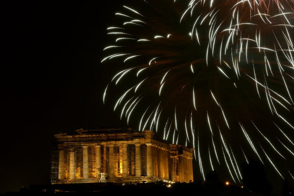 Vatrometi obeležili početak Nove godine u svetu (FOTO) 7
