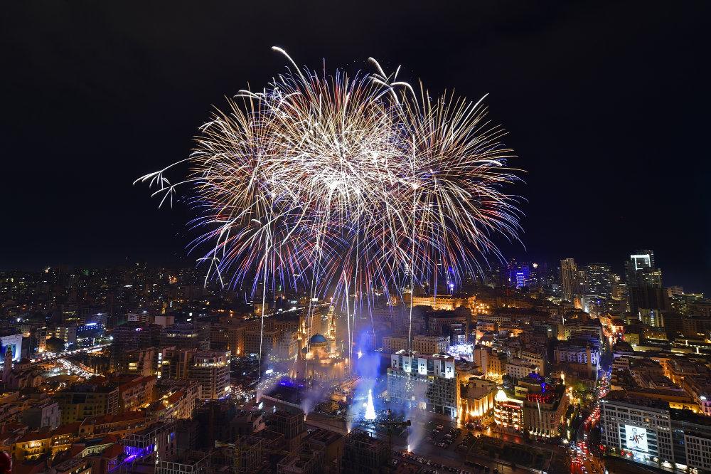 Vatrometi obeležili početak Nove godine u svetu (FOTO) 6