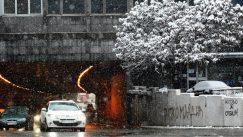 Lančani sudar na Ibarskoj, zbog snega kolaps u saobraćaju u Beogradu 3