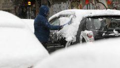 Lančani sudar na Ibarskoj, zbog snega kolaps u saobraćaju u Beogradu 4