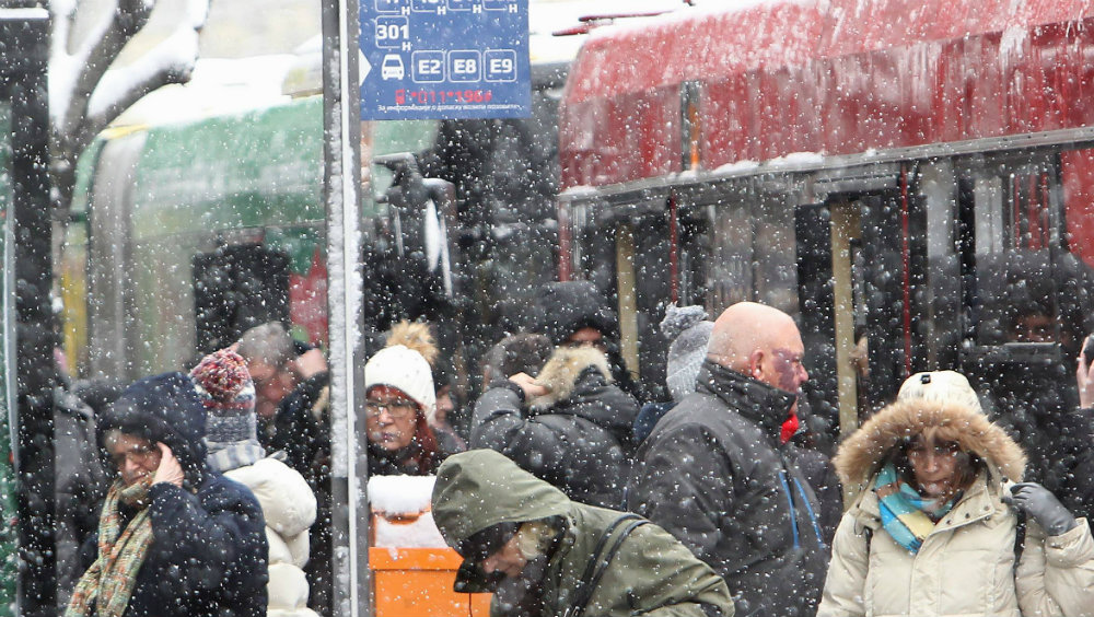 Lančani sudar na Ibarskoj, zbog snega kolaps u saobraćaju u Beogradu 1