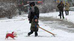 Lančani sudar na Ibarskoj, zbog snega kolaps u saobraćaju u Beogradu 6