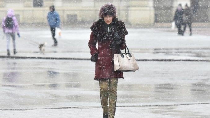 U Srbiji sutra moguć sneg, sem na severu Vojvodine 2