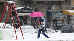 Lančani sudar na Ibarskoj, zbog snega kolaps u saobraćaju u Beogradu 7
