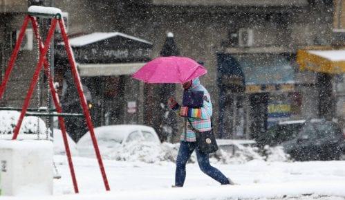 Nove snežne padavine, za Božić ledeni dani 14